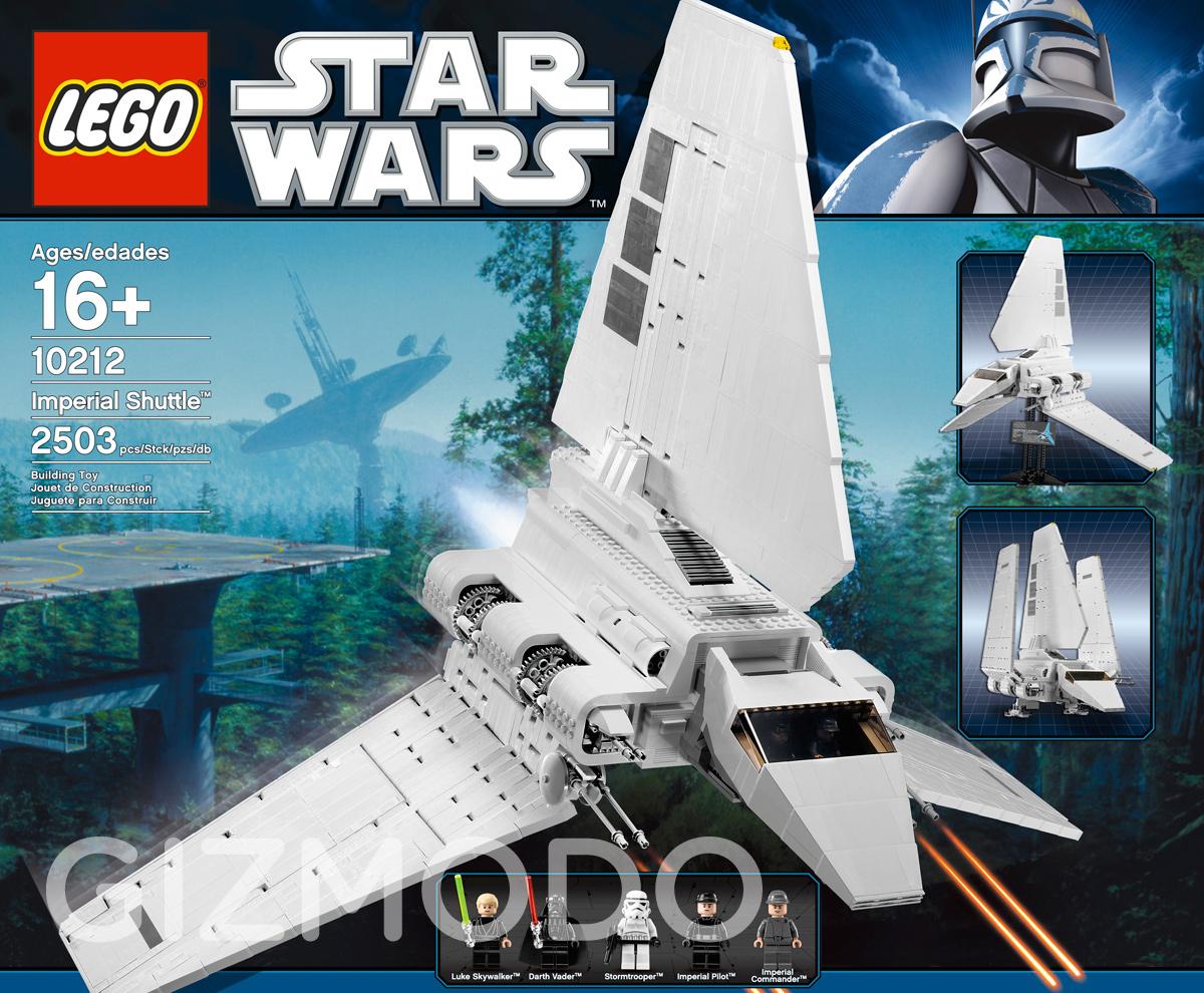 Das gewaltige Imperiale Shuttle aus LEGO